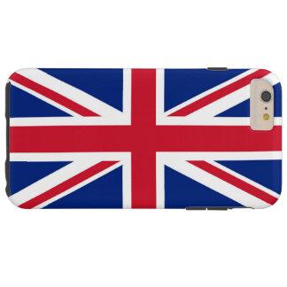 Bandera del Reino Unido Funda De iPhone 6 Plus Tough