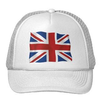 Bandera del Reino Unido Gorras De Camionero