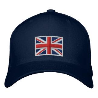 Bandera del Reino Unido Gorro Bordado
