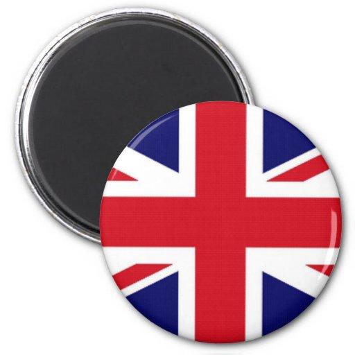 Bandera del Reino Unido Imán De Nevera