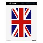 Bandera del Reino Unido NOOK Calcomanías