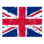 Bandera del Reino Unido o de Union Jack Tarjeta Postal