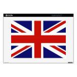 Bandera del Reino Unido Calcomanías Para 38,1cm Portátiles