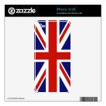Bandera del Reino Unido Skins Para iPhone 4