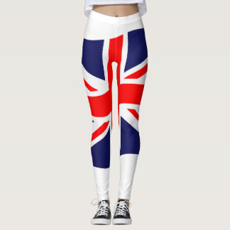 Bandera del Reino Unido + sus ideas Leggings
