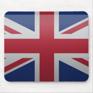 Bandera del Reino Unido Tapete De Ratón