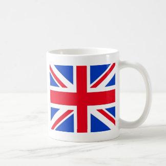 Bandera del Reino Unido Tazas De Café