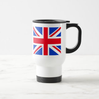 Bandera del Reino Unido Taza De Viaje