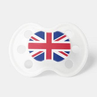 Bandera del Reino Unido - versión auténtica de Chupetes Para Bebés
