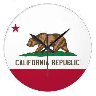 Bandera del reloj de California