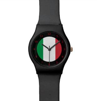 Bandera del reloj de Italia