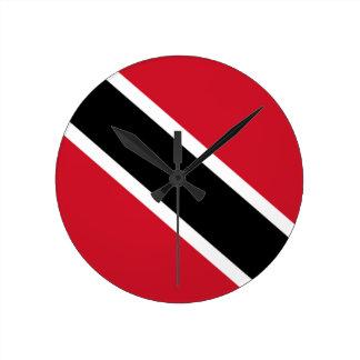 Bandera del reloj de pared de Trinidad and Tobago