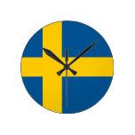 Bandera del reloj de Suecia