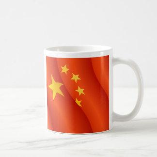 Bandera del representante de la gente de la taza
