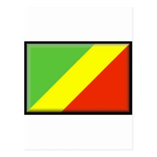 Bandera del República del Congo Postal