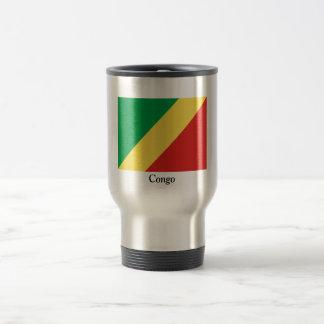 Bandera del República del Congo Taza Térmica
