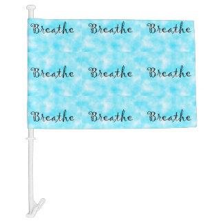 bandera del Respirar-car