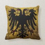 Bandera del Sacro Imperio Romano del Grunge Almohadas