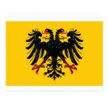 Bandera del Sacro Imperio Romano Postal