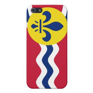 Bandera del Saint Louis iPhone 5 Carcasas