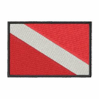 Bandera del salto chamarra de deporte bordada