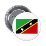 Bandera del santo San Cristobal y de Nevis Pin