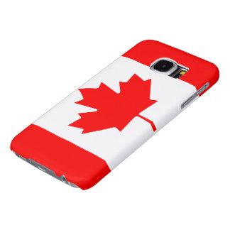 Bandera del SE de Canadá Fundas Samsung Galaxy S6