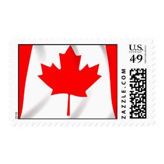 Bandera del sello de Canadá