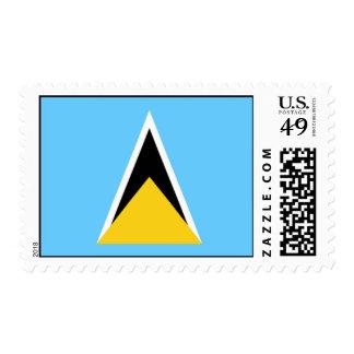 Bandera del sello de la Santa Lucía