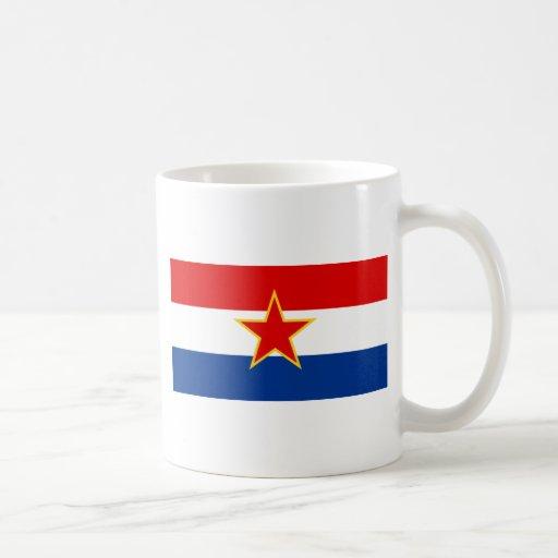 Bandera del SENIOR Croacia Taza