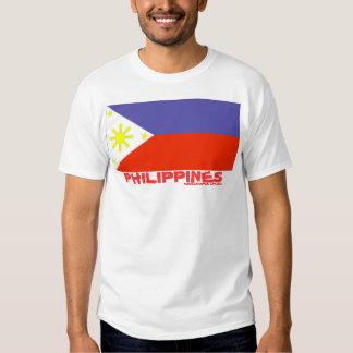 Bandera del SG (Filipinas) Polera