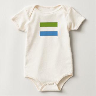 Bandera del Sierra Leone Body De Bebé