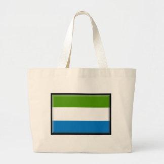 Bandera del Sierra Leone Bolsa De Mano