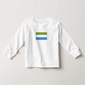 Bandera del Sierra Leone Camisas