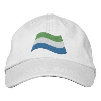 Bandera del Sierra Leone Gorros Bordados