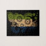 Bandera del Sierra Leone Puzzles Con Fotos
