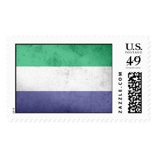 Bandera del Sierra Leone Sellos