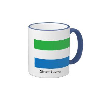 Bandera del Sierra Leone Taza De Café
