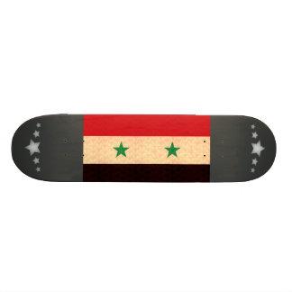 Bandera del sirio del modelo del vintage monopatines