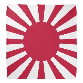 Bandera del sol naciente de Japón Bandanas
