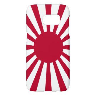 Bandera del sol naciente de Japón Fundas Samsung Galaxy S7
