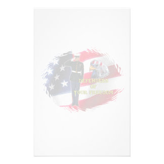 Bandera del soldado papelería