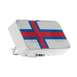 Bandera del speake del Doodle de Faroe Island Orig iPhone Altavoz