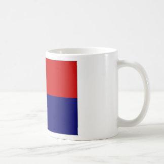 Bandera del St Maarten de Antillas holandesas Tazas