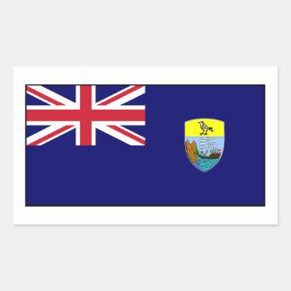 Bandera del St Santa Helena Rectangular Altavoces