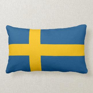 Bandera del sueco de Suecia Cojín Lumbar