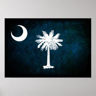 Bandera del sur de Carolinan; Posters
