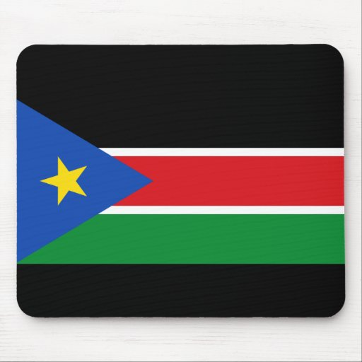 bandera del sur de Sudán Alfombrilla De Raton
