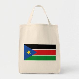 bandera del sur de Sudán Bolsas De Mano