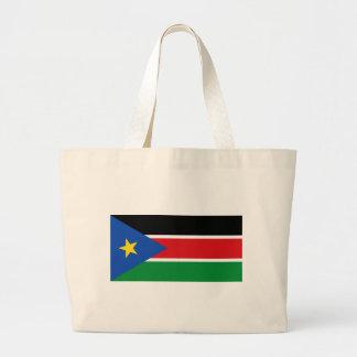 Bandera del sur de Sudán Bolsa